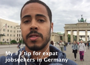 Jesse's tip for expat jobseekers in Germany
