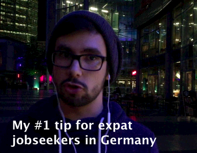 romain's tip for expat jobseekers in Germany
