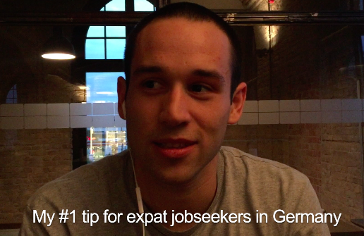 Ulises's tip for expat jobseekers in Germany