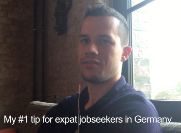 Pascal's tip for expat jobseekers in Germany
