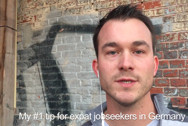 Rene's tip for expat jobseekers in Germany