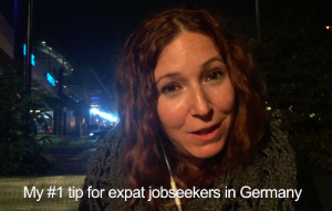 Elena's tip for expat jobseekers in Germany