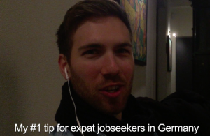 Gavin's tip for expat jobseekers in Germany