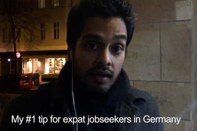 Angelo's tip for expat jobseekers in Germany